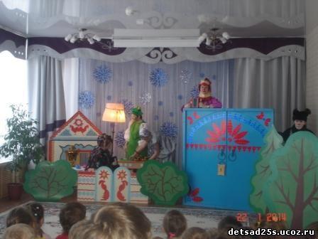 Декорации к сказке теремок